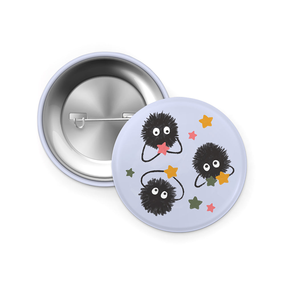 Soot Sprite pin