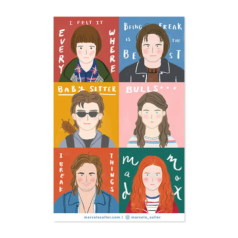 Stranger Things Sticker Set 2