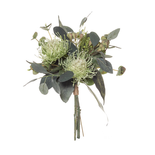 Pin Cushion Mix Bouquet - Green