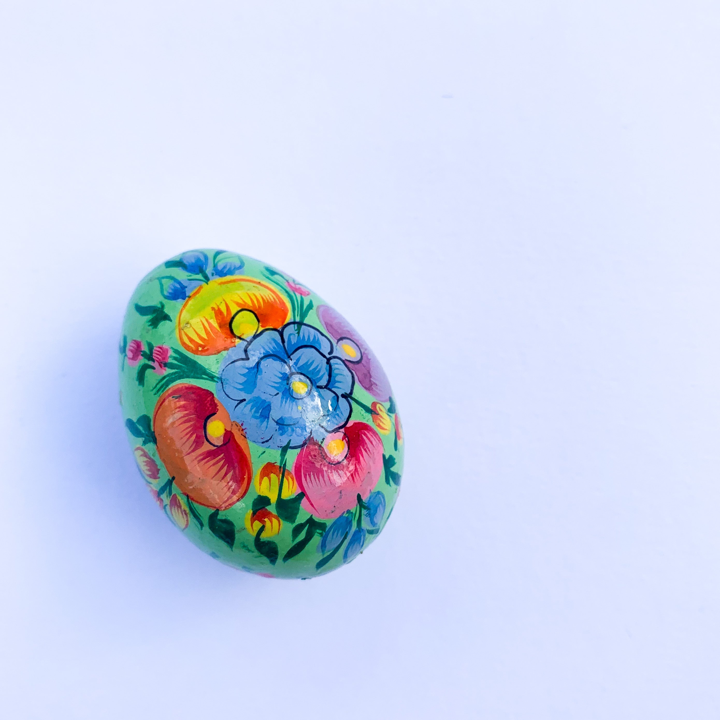 Kashmirir Hand Painted Eggs - Small