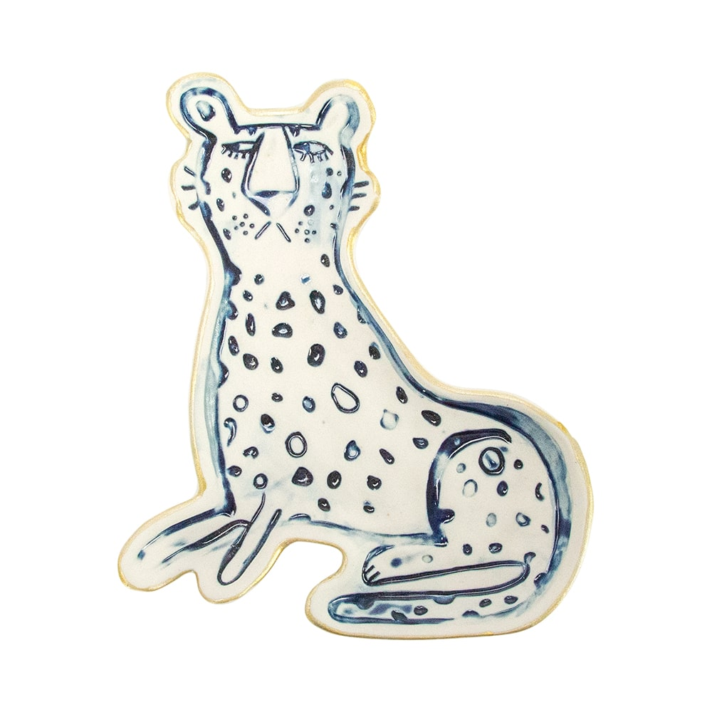 Trinket Dish - Cheetah