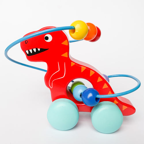 Dinosaur Abacus - Red