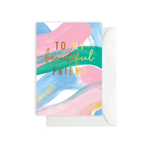 Gift Card - To My Beautiful Friend