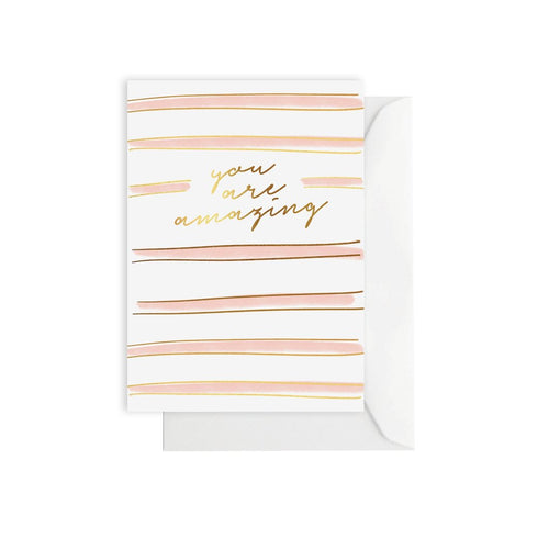 Gift Card - You Are Amazing Stripe