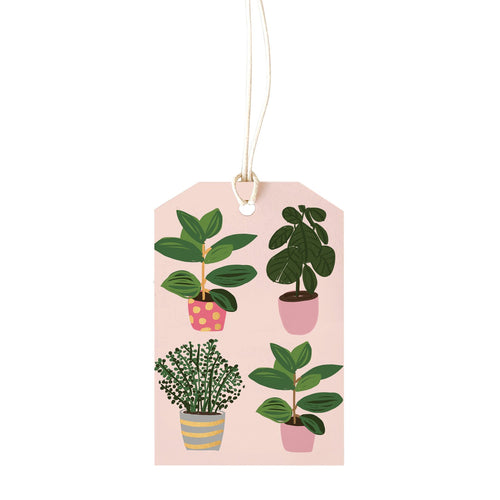 Gift Tag - Plants