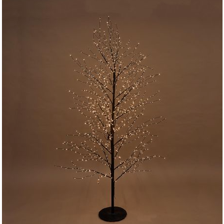 Black forest Light Up Tree With 900 Lights - 150cm