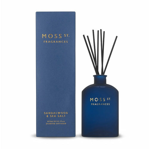 Moss St. Fragrances Sandalwood & Sea Salt Diffuser