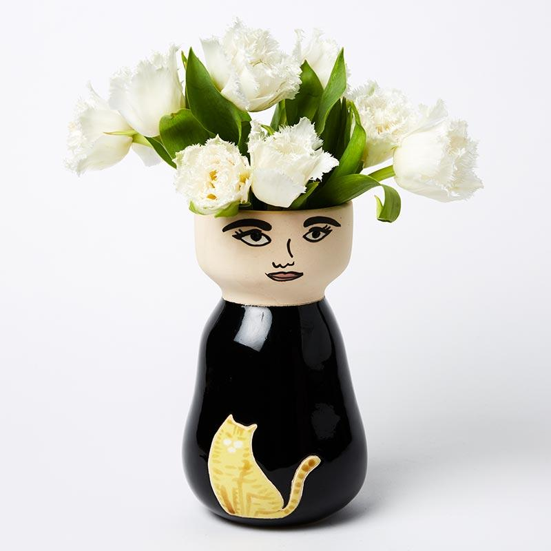 Golightly Face Vase