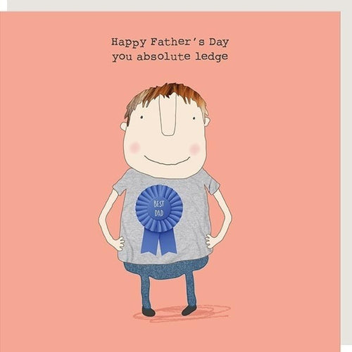 Happy Father's Day - Ledge Card