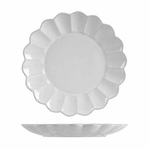 Scalloped Plate Large