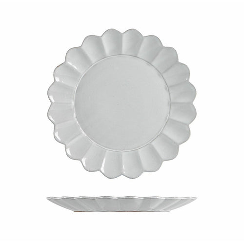 Scalloped Plate Small