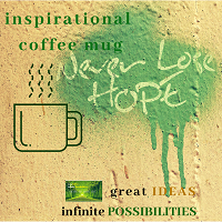 Great Ideas Infinite Possibilities Inspirational Mug