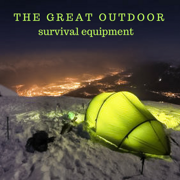 The Great Outdoors Survival Equipment