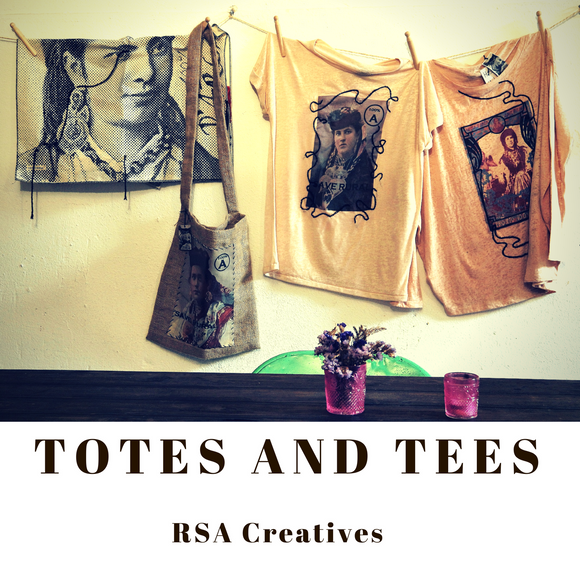 Rossano Salvosa Almonia Creatives Totes and Tees