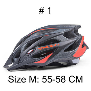 MOON Upgrade Model 2015 Bicycle Helmet Insect Net Cycling Helmet Ultralight Integrally-molded Road Mountain Bike Helmet