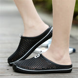 Men's Breathable Slip On  Beach Flip Flops
