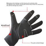 2016 Winter Mountian Bike Windproof Gloves Touch Screen Waterproof Ski Cycling Hiking Camping Leisure Thermal Cycling Gloves