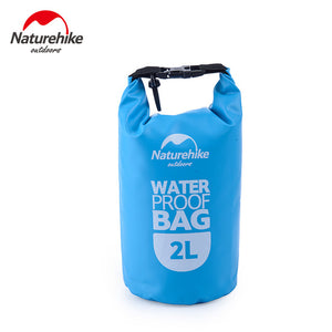 NatureHike 2L 5L Camping Hiking Storage Bag Rafting Dry Bag Kayaking Waterproof Bag Swimming Bag