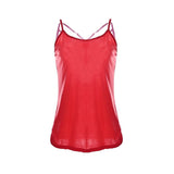 High Quality Women Summer Sleeveless Spaghetti Strap