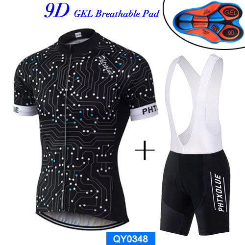 Phtxolue Men Cycling Jersey Set  Pro Team Breathable Mountain Bicycle Bike Clothing Wear Cycling Clothing 2017