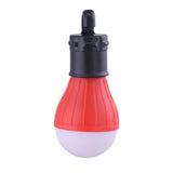 Portable Soft Light Outdoor Hanging LED Camping Tent Light Bulb Fishing Lantern Lamp 4 Colors Wholesale Free Shipping