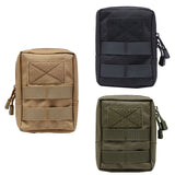 Outdoor Military Tactical Life Bag Multifunctional Tool Pouch EDC Springs Hinge Hunting Durable Belt Packs