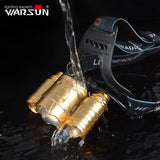 WARSUN XML T6 1600Lm Headlamp 4 Modes Lanterna Led Lampe Frontale Head Lamp Outdoor Camping Torch Head Light 18650 Battery
