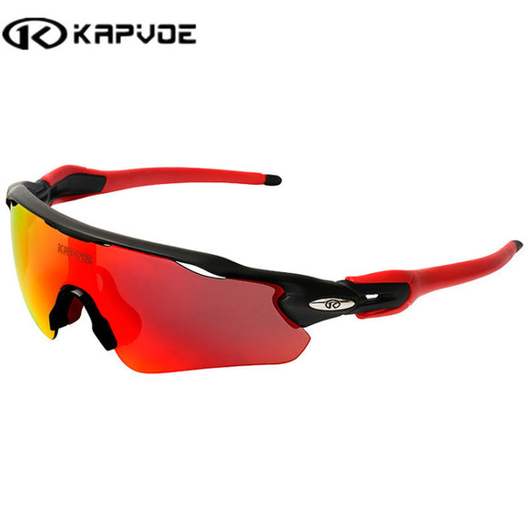 Kapvoe Polarized Cycling Outdoor Sport  Sunglasses