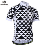 SIILENYOND Quick Dry Cycling Jersey Summer Short Sleeve MTB Bike Cycling Clothing Ropa  Maillot Ciclismo Racing Bicycle Clothes