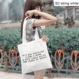 Handmade 12-ounce Pure Cotton Canvas  Tote Bag