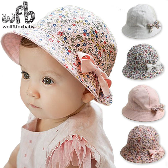 6-48 Months Baby Two-sided Fisherman Hat