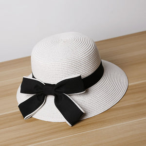 Women's  Fashion Bow knot Wide Brim  Hat