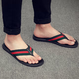 Men's Casual Leather Flip Flop