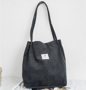 Mori Style Large Capacity Canvas Tote Bag