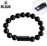 Wearable Iphone 6/7  Micro USB Charger Bead Bracelet