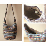 Adjustable Vintage Bohemian Hippie  Tote Bag