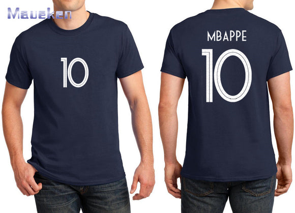 Men's Cotton Printed  Mbappe 10 Tees
