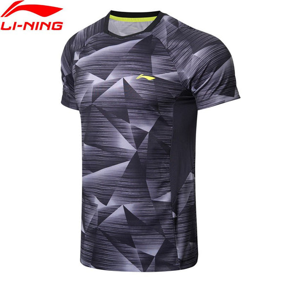 Li-Ning Men's Badminton  Breathable Competition Sports Tees