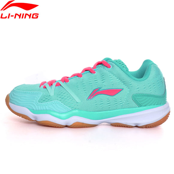 Li-Ning Women Badminton Shoes  Breathable Sneakers  AYTM062 XYY052