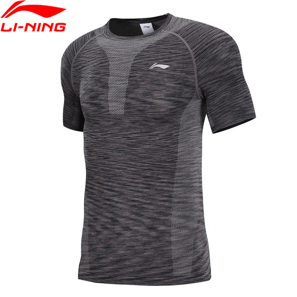 Li-Ning Men Running Base Layer Tees Breathable Tight Fit  AUDN083 MTS2849