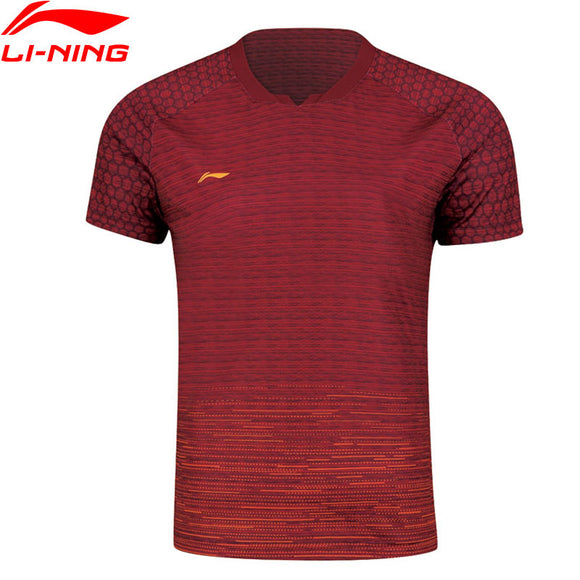 Li-Ning Men's Badminton  Competition Top Comfort Tees