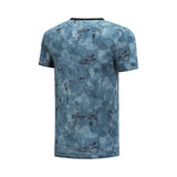 Li-Ning Men The Trend Sports Tee Tops  100% Cotton Regular Fit  Breathable AHSN503 MTS2856