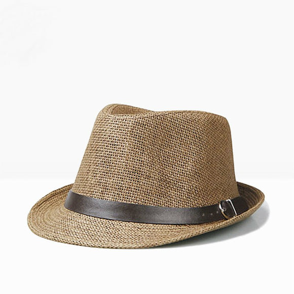 Men's  Panama Summer  Fedora Hat