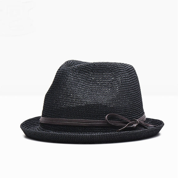Men's Panama Straw Fedora Hat