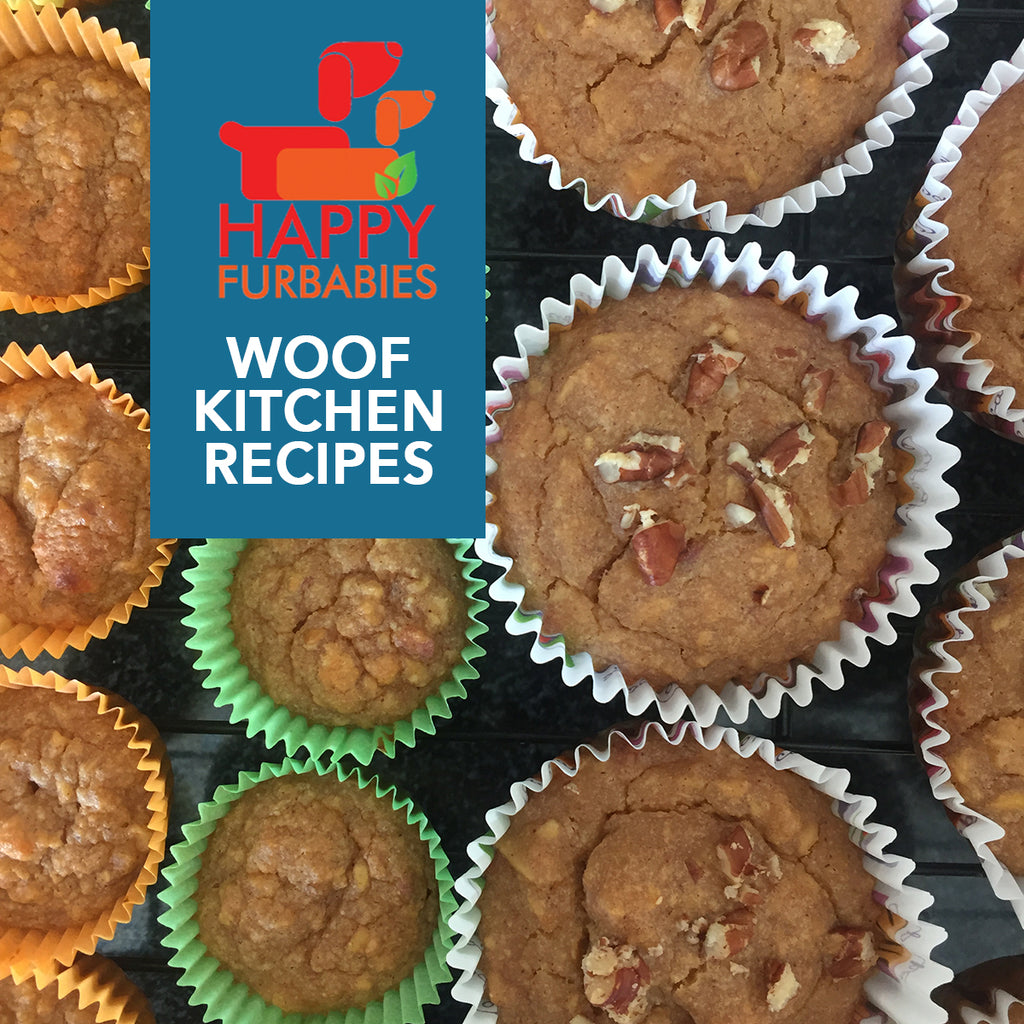 WOOF KITCHEN RECIPES: PEANUT BUTTER PUPCAKES DOGS WILL LOVE
