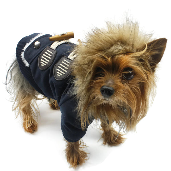 BELGIAN DOG DUFFLE COAT