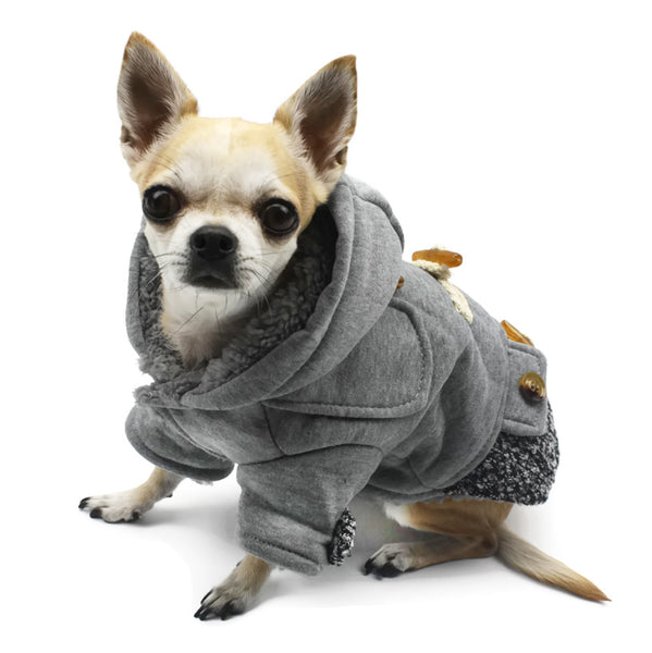 SLIM-FIT DOG DUFFLE COAT