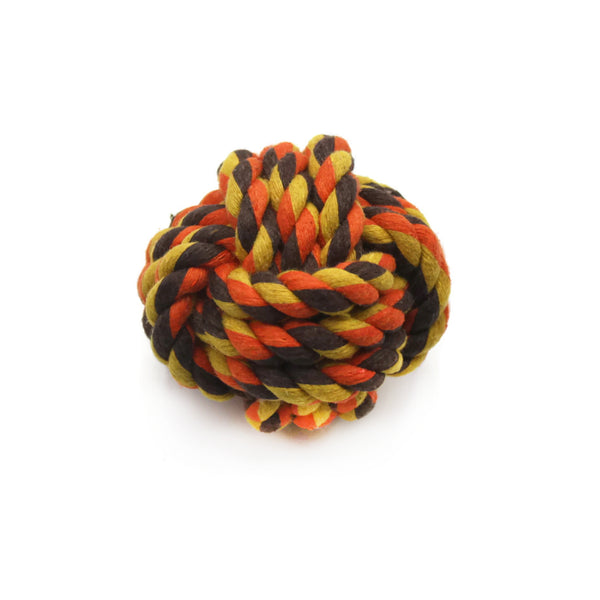 BOZO THE BIG BALL - SMALL DOG ROPE TOY - BESTSTELLER FAVOURITE