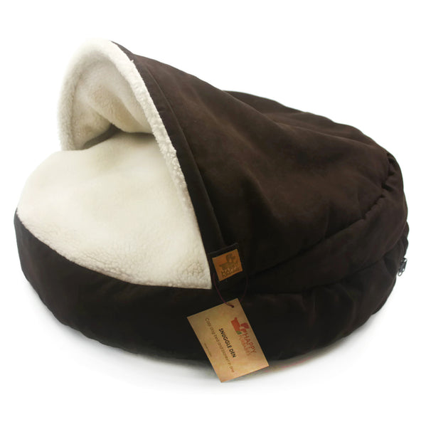 CAROB SNUGGLE DEN - DOG BED