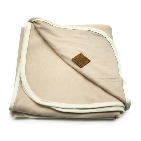 TASHA BAMBOO JERSEY DOG BLANKET/TOWEL - BUTTERMILK
